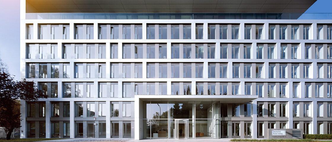 Gebäude des Deutschen Ärzteverlags in Köln
