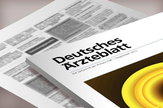 Anzeigenservice Deutsches Ärzteblatt