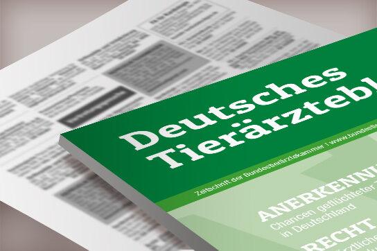 Anzeigenservice Deutsches Tierärzteblatt