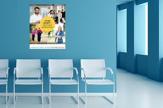 Impfkampagne 2021 des Deutschen Ärzteverlags